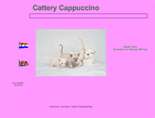 Tablet Preview of catterycappuccino.nl